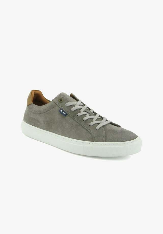 SNEAKERS IN SUEDE LEATHER - Sneakers basse - lightgrey