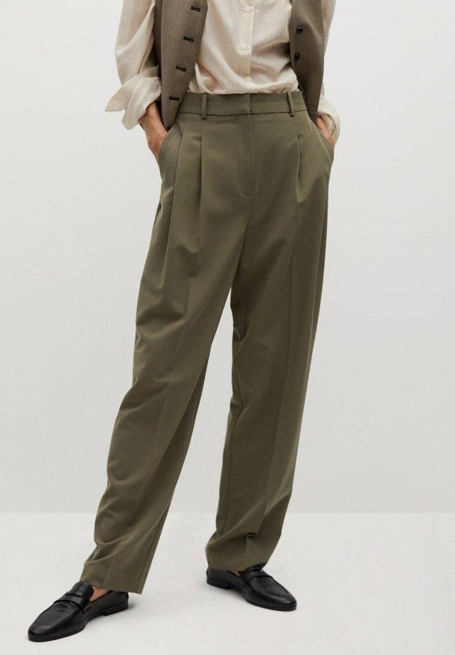 ISABEL - Pantaloni - kaki