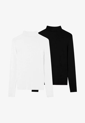 2 PACK - Strickpullover - black