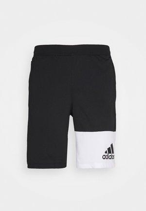 4K GEO SHORTS - Sports shorts - black