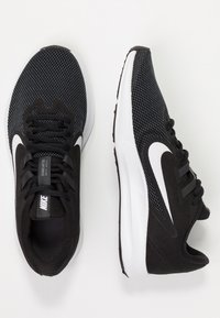 Nike Performance - DOWNSHIFTER  - Zapatillas de running neutras - black/white/anthracite/cool grey - 1