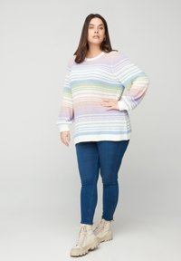 Zizzi - Jumper - green - 1