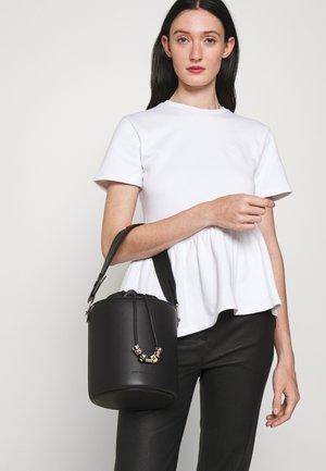CHARMS BUCKET - Handbag - black
