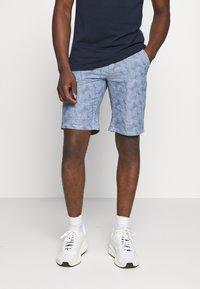 Blend - Denim shorts - denim middle blue - 0