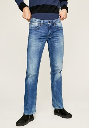 KINGSTON - Straight leg jeans - denim