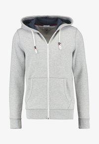 ORIGINAL ZIPTHRU - Mikina na zip - mottled grey