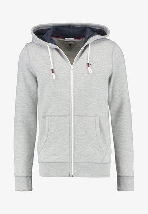 ORIGINAL ZIPTHRU - Hoodie met rits - mottled grey