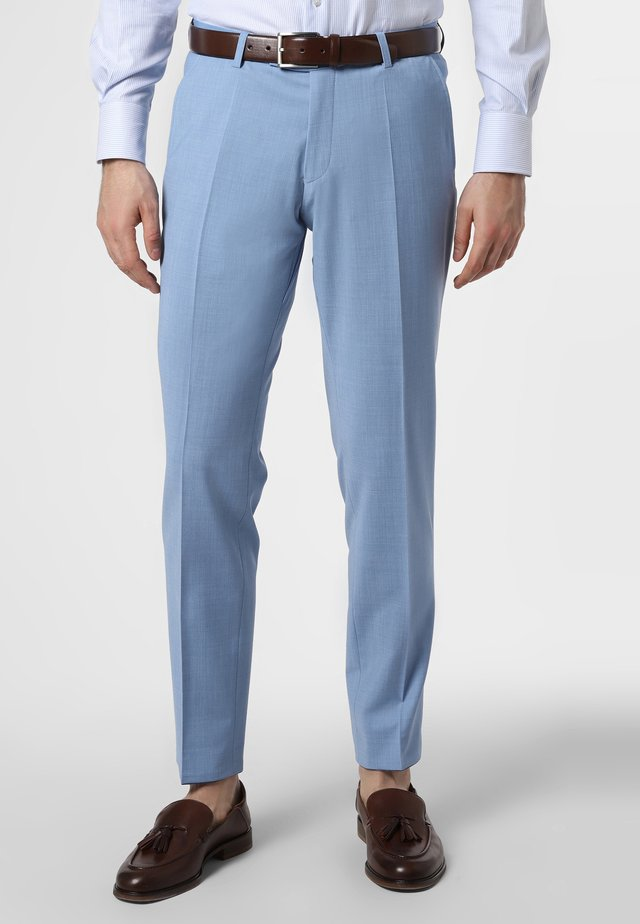 Suit trousers - hellblau