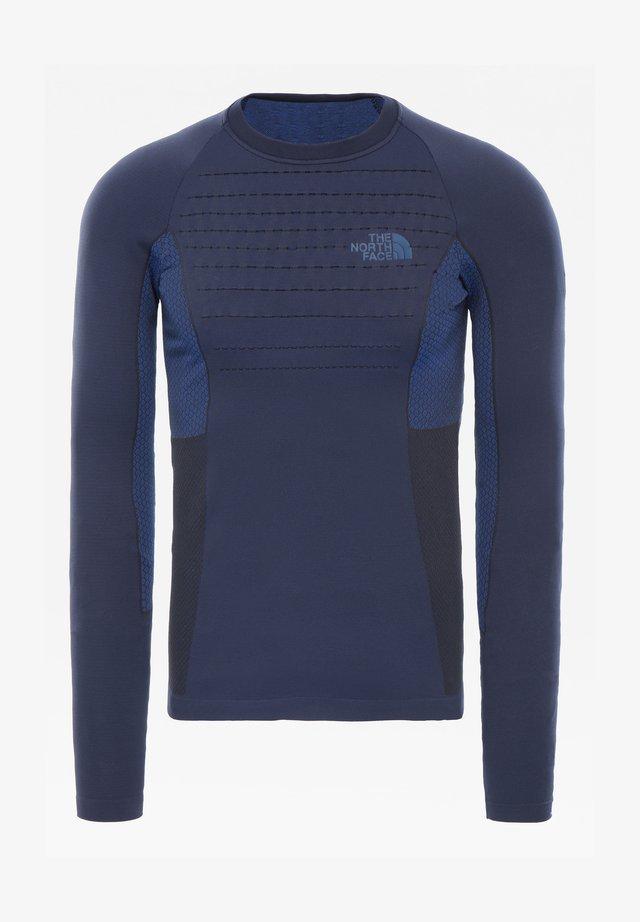 M SPORT L/S CREW NECK - T-shirts print - urban navy/tnf blue