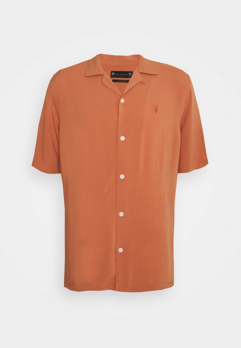 AllSaints - VENICE SHIRT - Camisa - scorched red