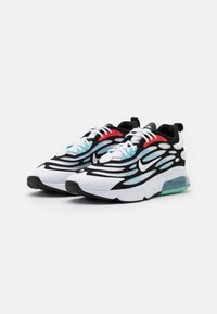 Nike Sportswear - AIR MAX EXOSENSE UNISEX - Sneakers basse - white/black/chile red/speed yellow/bleached aqua - 1