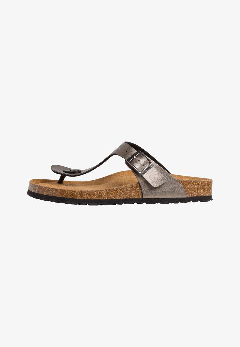Tamaris - T-bar sandals - anthracite