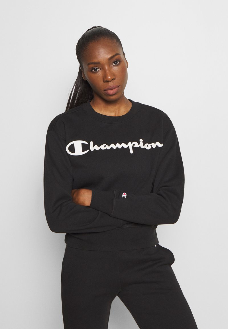 Champion - CREWNECK LEGACY - Collegepaita - black