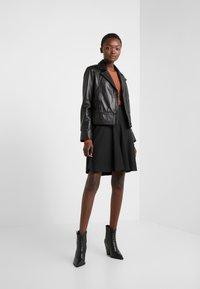 HUGO - RISELLA - Mini skirt - black - 1