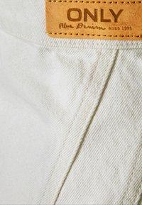 ONLY - ONLRUBY LIFE PANEL - Mini skirt - ecru - 8