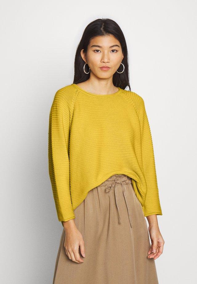 FATIN - Pullover - cream gold