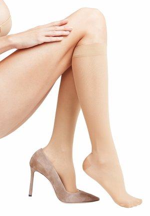 Knee high socks - brown