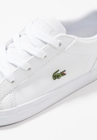 Lacoste - LEROND - Baby shoes - white - 2