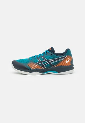GEL COURT HUNTER - Multicourt tennis shoes - teal blue/french blue
