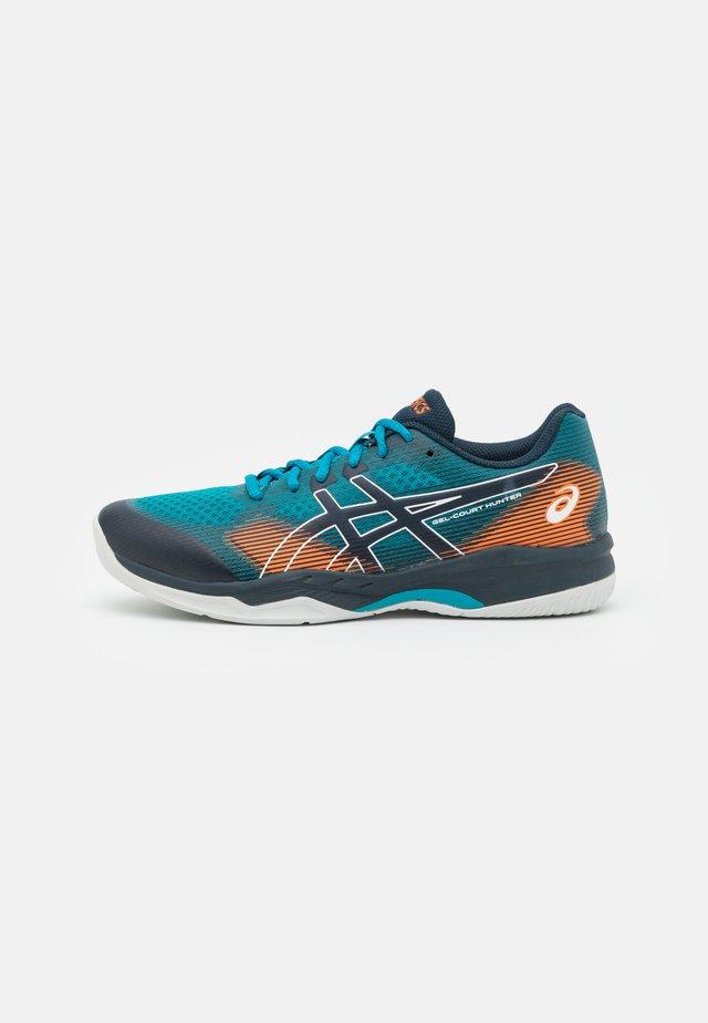 COURT HUNTER - Tennisschoenen voor alle ondergronden - teal blue/french blue
