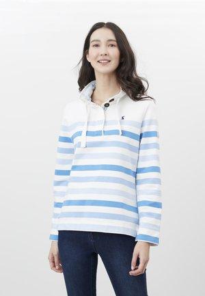Sweater - cremefarben streifen