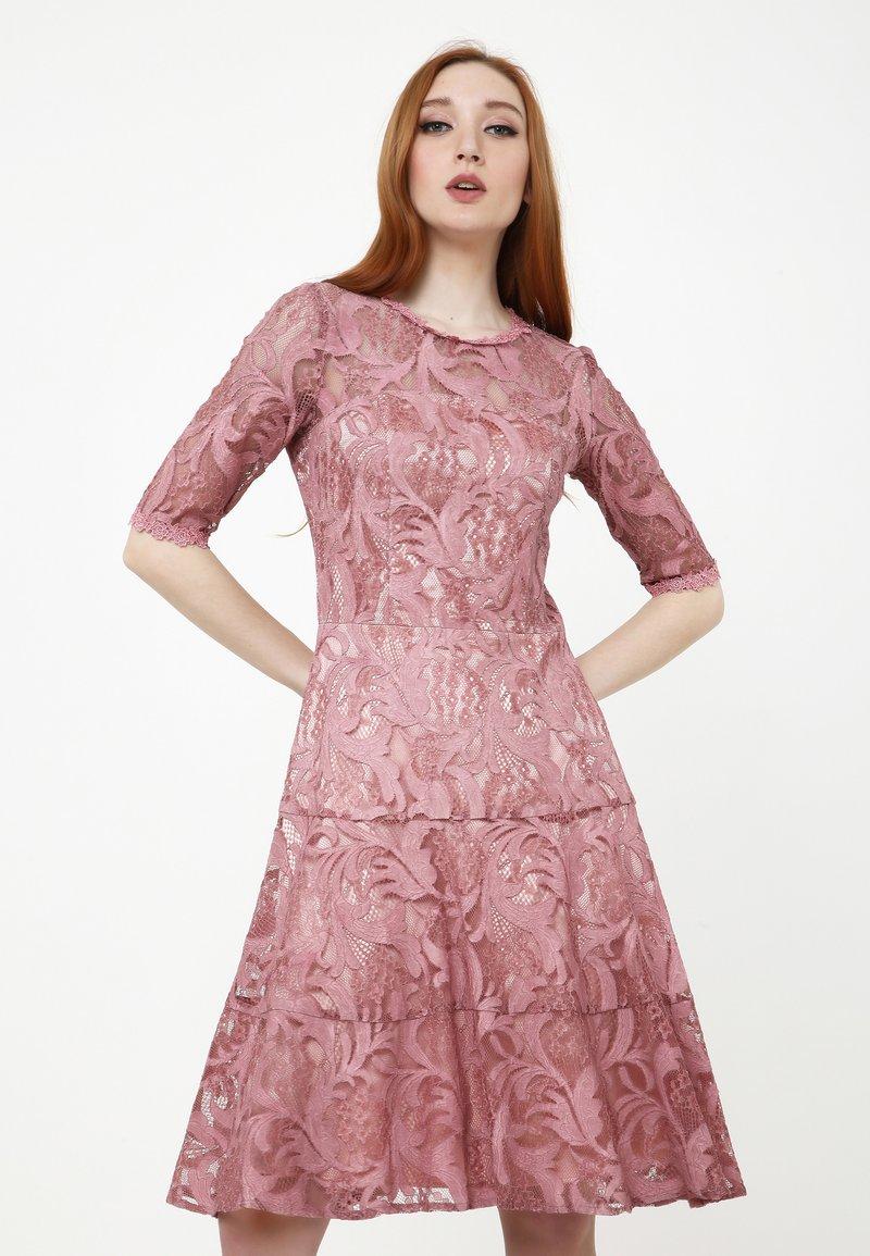 Madam-T - Cocktail dress / Party dress - rosa