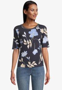 Betty Barclay - Print T-shirt - dark blue beige - 0