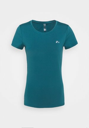 ONPCLARISSA TRAINING TEE - T-Shirt basic - balsam