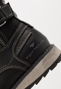 TOM TAILOR - Lace-up ankle boots - black - 2