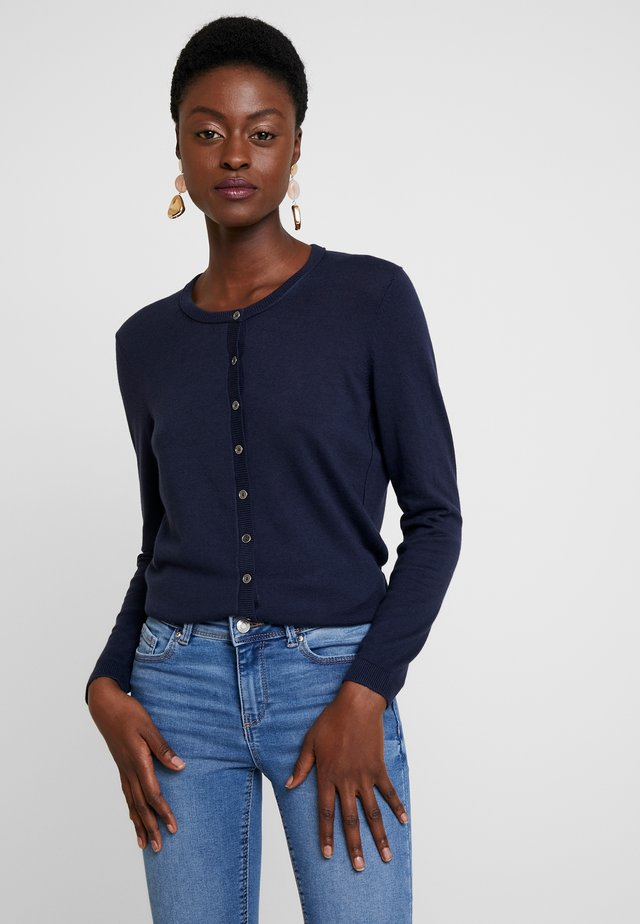 BASIC - Strikjakke /Cardigans - navy