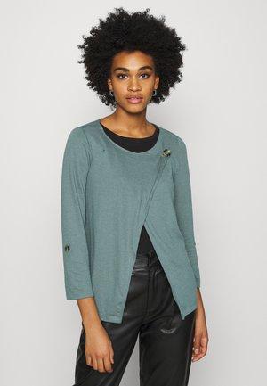 ONLELLE CARDIGAN - Cardigan - balsam green