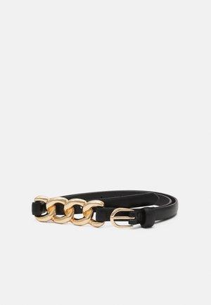 NADJA - Waist belt - black/gold-coloured