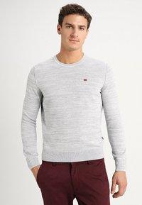 Napapijri - DUEVILLE  - Sweter - medium grey melange - 0