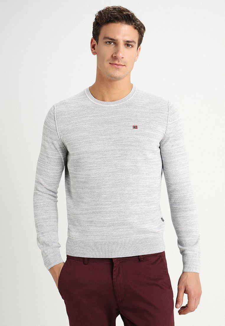 Napapijri - DUEVILLE  - Sweter - medium grey melange