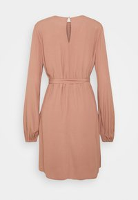 Nly by Nelly - PERFECT BELTED DRESS - Day dress - brown - 1