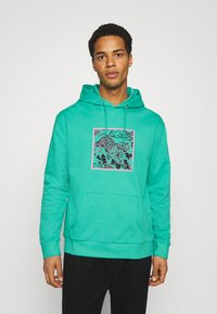 Urban Threads - FRONT & BACK GRAPHIC HOODY UNISEX - Hoodie - green - 2