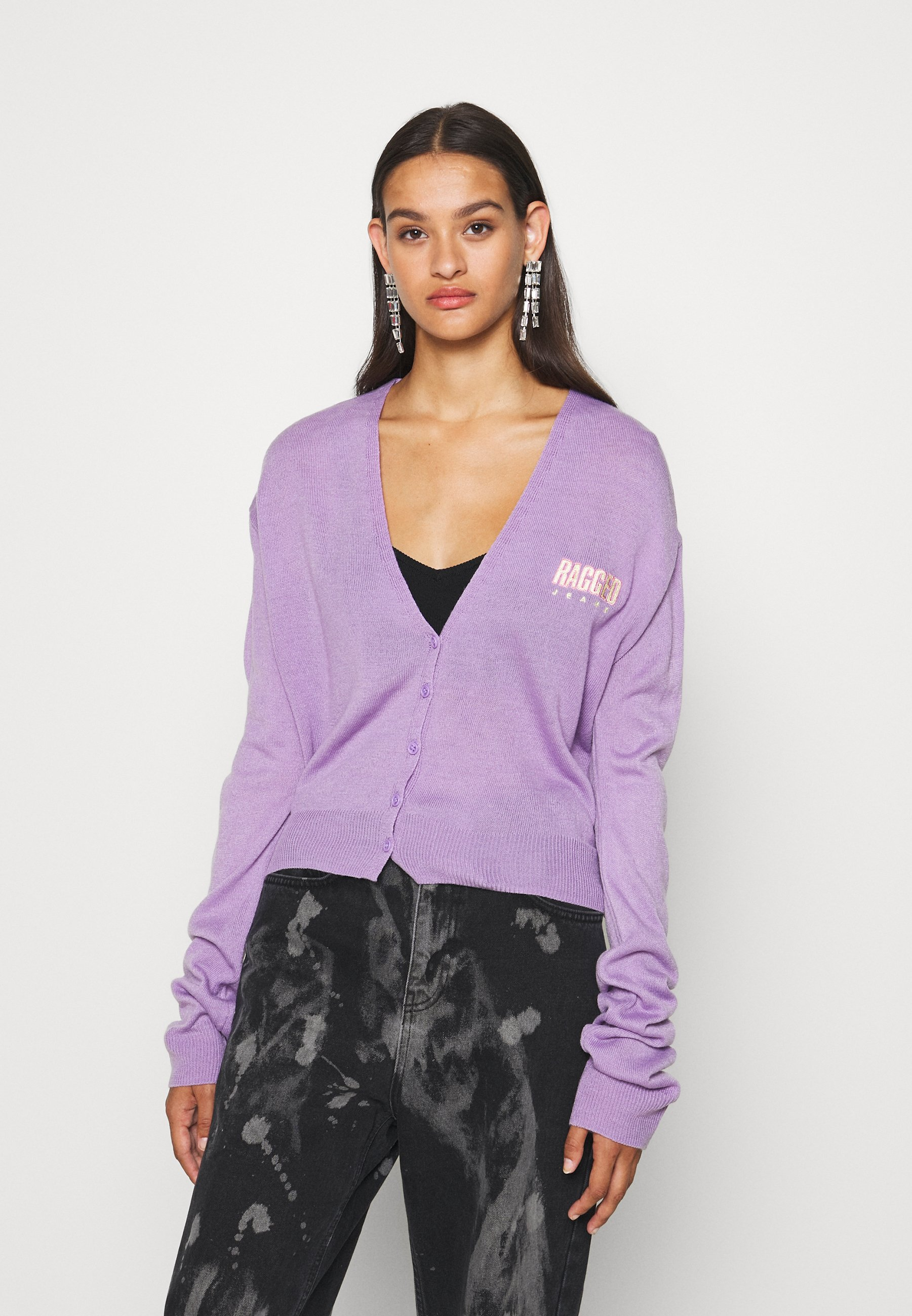 The Ragged Priest Vest - lilac - Dames jas Nieuw