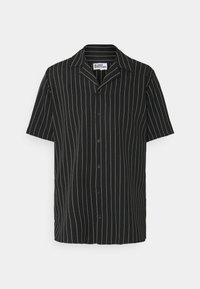 ASHLAND BOXY UNISEX - Button-down blouse - black