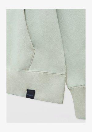 BASIC  - Hoodie - metallic green