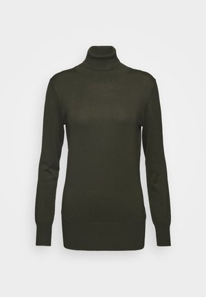 ASTRID ROLL NECK - Strikpullover /Striktrøjer - grape leaf