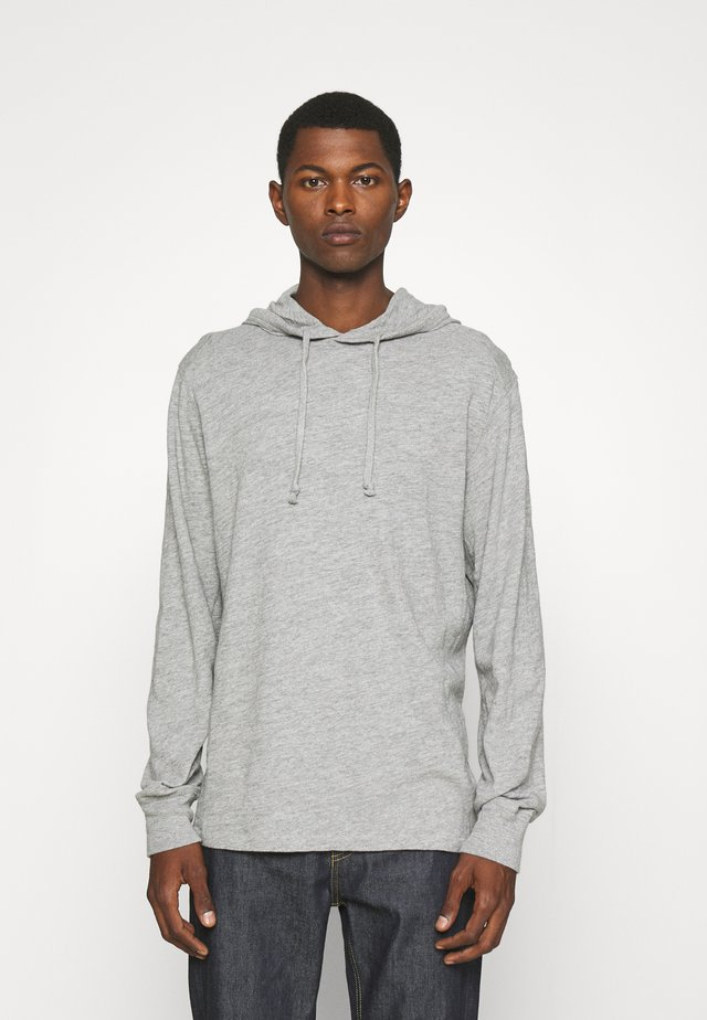 CLASSIC FLAME HOODIE - Pullover - mottled grey