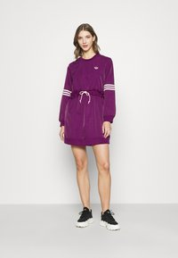 adidas Originals - BELLISTA - Day dress - power berry - 1