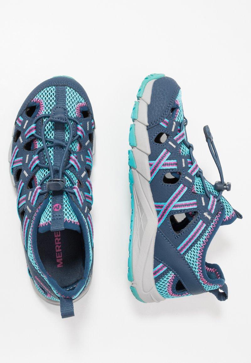 Merrell - HYDRO CHOPROCK - Walking sandals - navy/turquoise