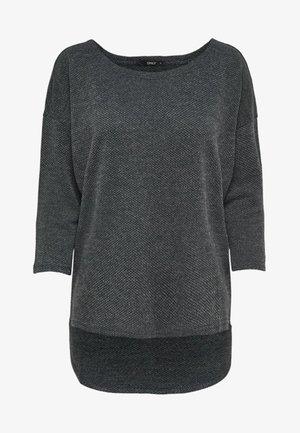 ONLALBA - Jumper - dark grey melange
