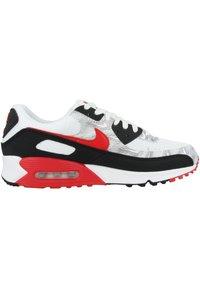 Nike Sportswear - AIR MAX 90  - Sneakers - white-black-university red - 4