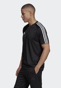 adidas Performance - TIRO 19 AEROREADY CLIMACOOL JERSEY - Print T-shirt - black - 2