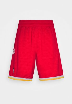 NBA SWINGMAN SHORT ROCKETS - Short de sport - red