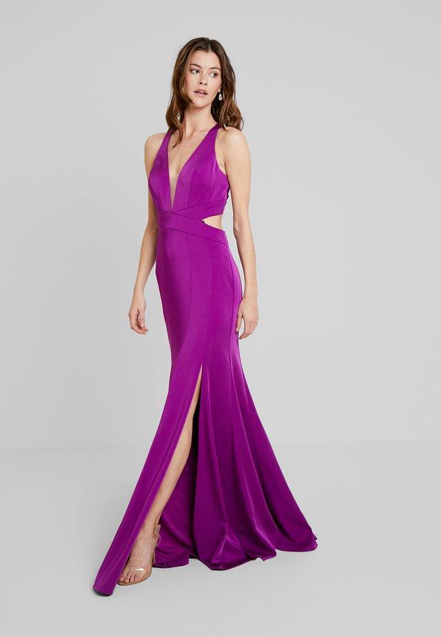 Vestido de fiesta - purple