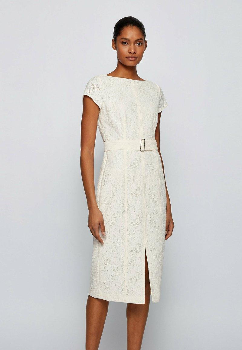BOSS - DERGITALA - Shift dress - natural