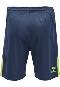 Hummel - LEAD TRAINER KIDS SHORTS - Sports shorts - dark denim - 2